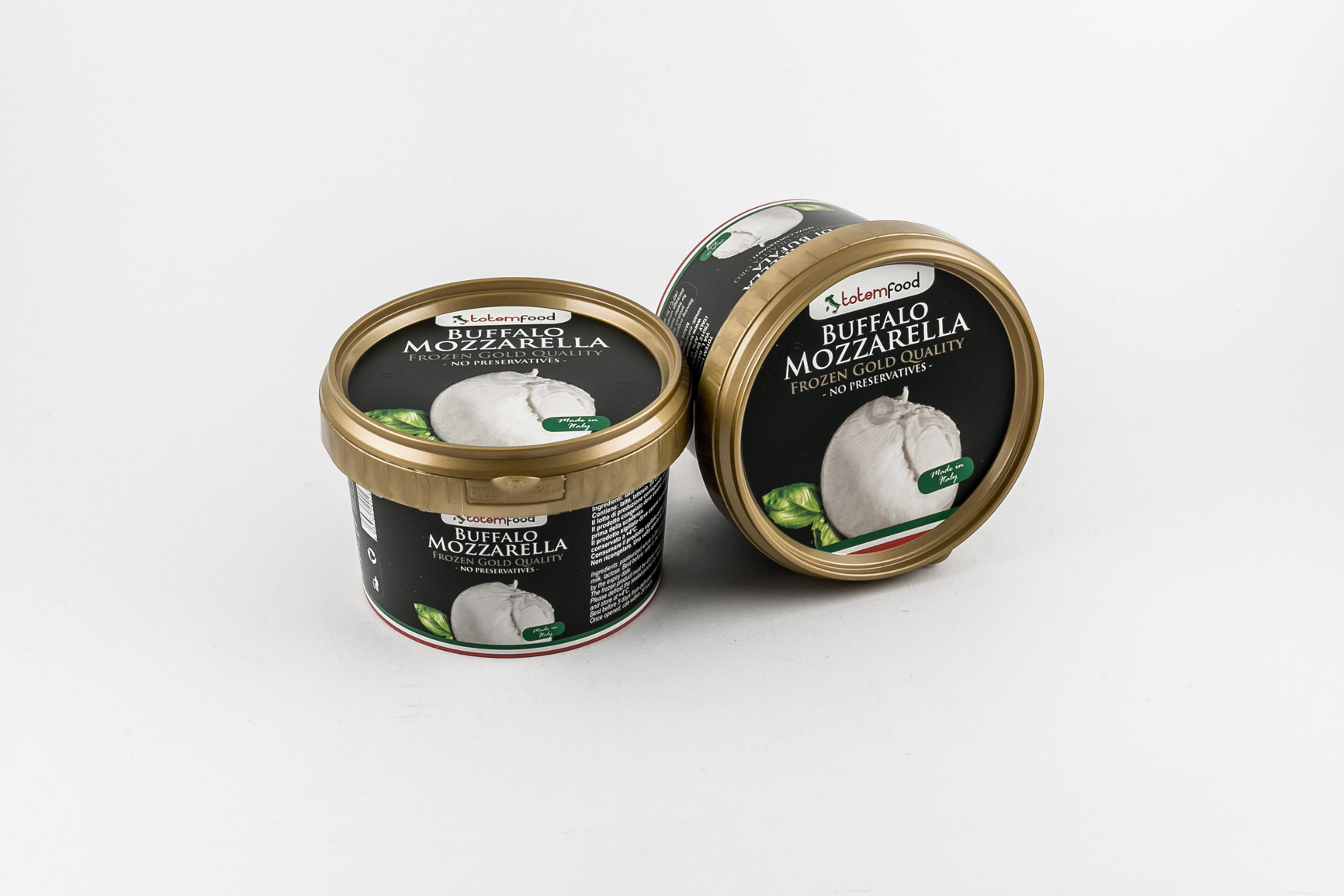 Frozen Buffalo Mozzarella - Bucket 100 gr.