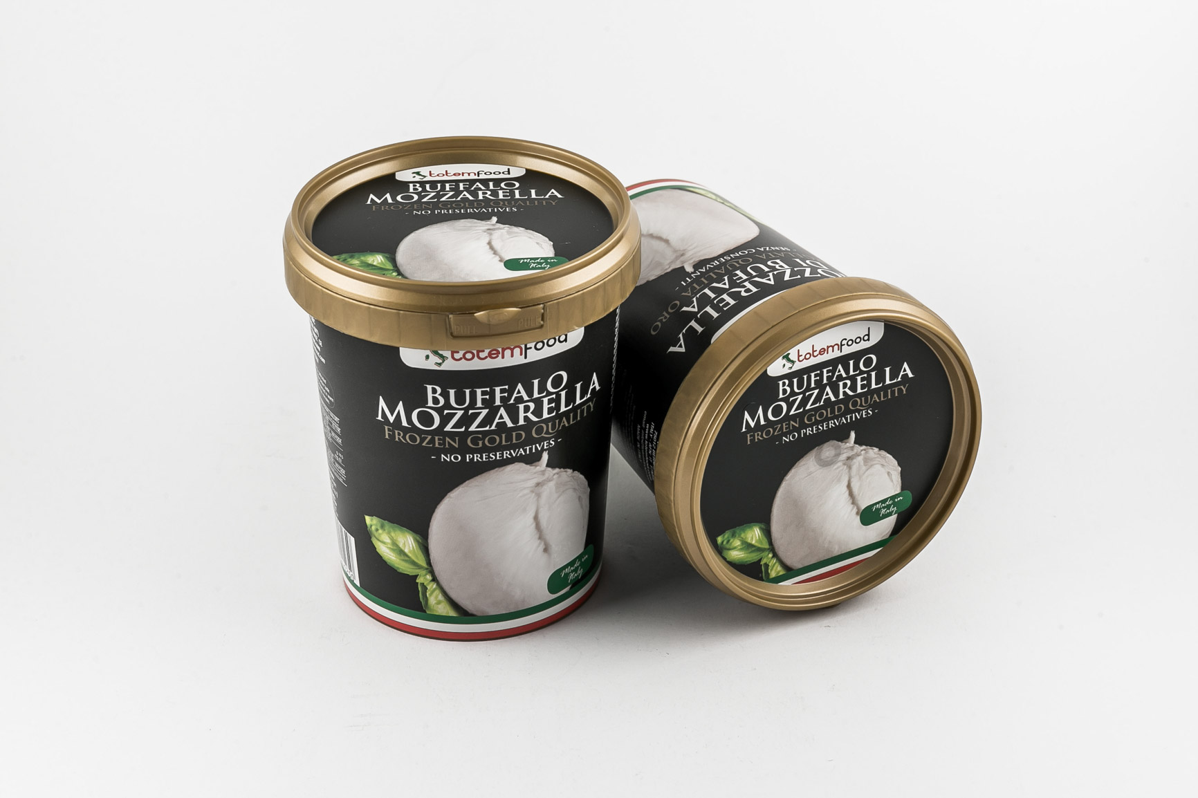 Frozen Buffalo Mozzarella - Bucket 250 gr.