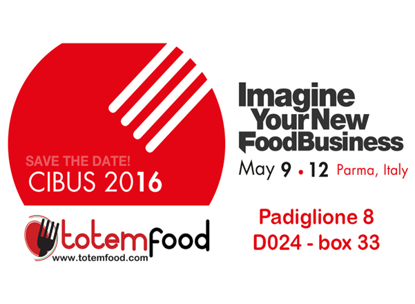 CIBUS 2016 EXHIBITION TOTEM FOOD