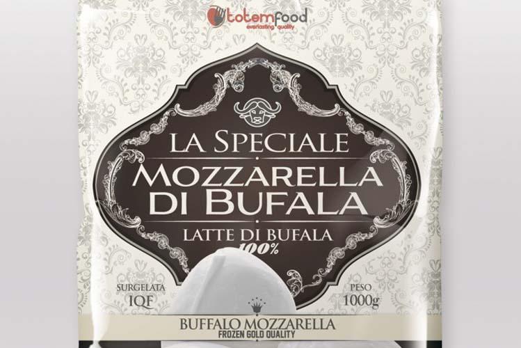 MOZZARELLA DI LATTE DI BUFALA SURGELATA LA SPECIALE PER PIZZA