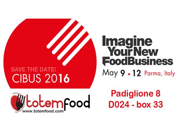 CIBUS 2016 EXHIBITION TOTEM FOOD